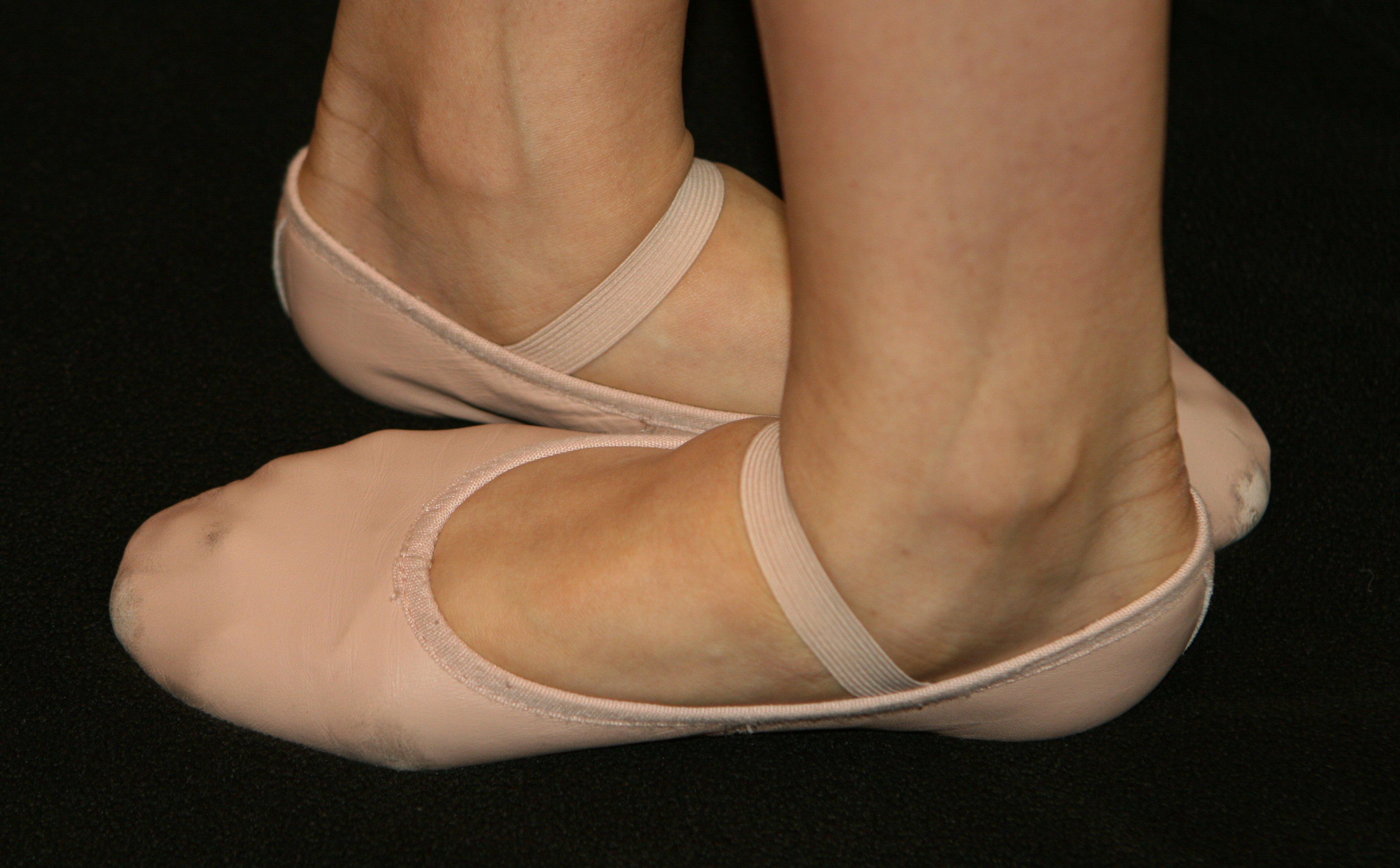 A balettcipő alapos megválasztása