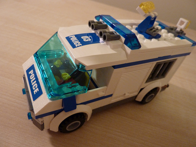 LEGO rendőrség és a beleélés lehetősége