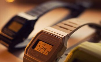 Casio retro óra